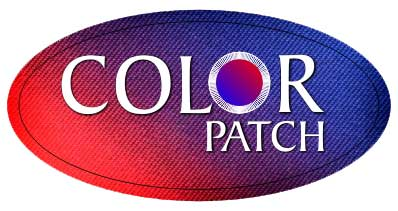 Custom dyed patches with unlimited color and detail