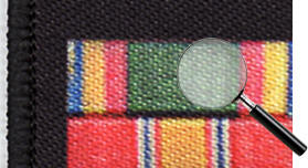 detail military service badge