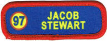 scout troop name patch