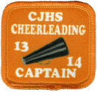 personalized cheer patch