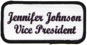 name patch club officer