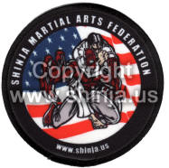 Shinja martial arts patch