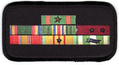 vietnam service bars badge