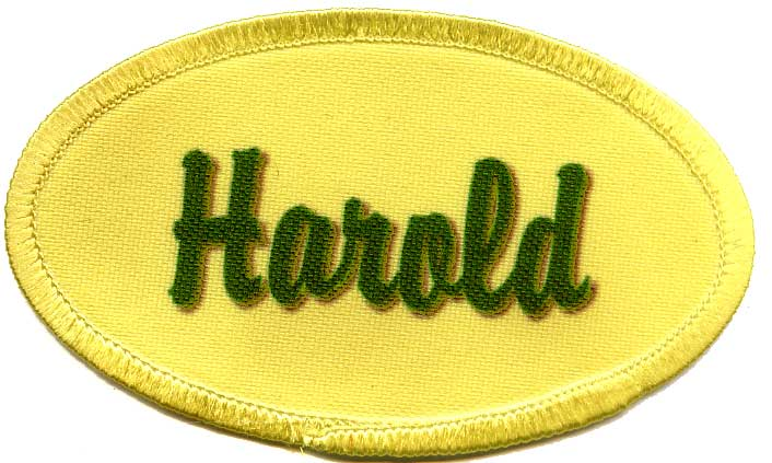 Custom Patch With Name