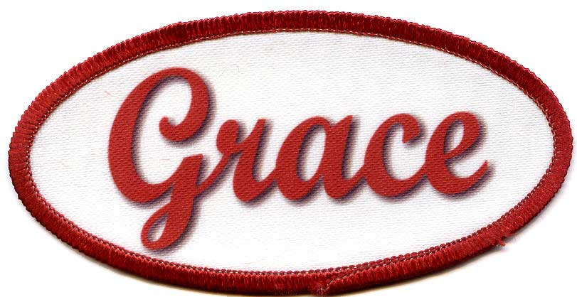 Personalized name patches colorpatch no minimum order for Mechanic shirts custom name patch
